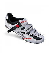Обувь EXUSTAR Road SR493B размер 46 бело-черные, фото 1