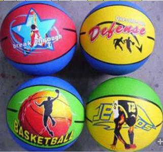 Мяч баскетбольный BT-BTB-0007 резиновый, размер 7