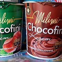 Шоколадна крем-паста Chocofini. 400г. Стакан.