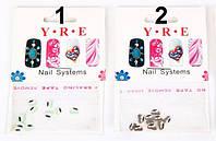 Акриловые цветы для дизайна 5мм YRE ДО1333 /93-0