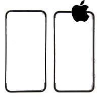 Рамка крепления дисплея для iPhone 4G, черная, оригинал