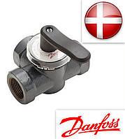 Клапан поворотный регулирующий (трехходовой) Ду 25 HRE 3 Kvs 10 PN 6 Danfoss