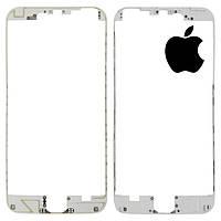 Рамка крепления дисплея для iPhone 6 Plus, белая, оригинал