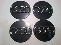 Наклейка на колпачок диска AUDI диаметр 60 мм