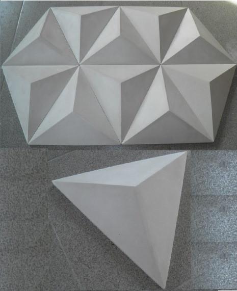 3d панели Триугольник