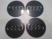 Наклейка на колпачок диска AUDI диаметр 55 мм
