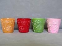 Горшок керамический для пересадки кактусов  К1.070.08