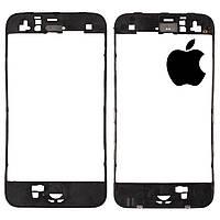Рамка крепления тачскрина для Apple iPhone 3G/3GS, оригинал (черная)
