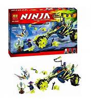 Конструктор Bela Ninjago 10395 Засада на мотоцикле