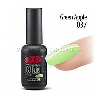 Гель лак PNB Green Apple светло-мятный, эмаль, 8 мл.
