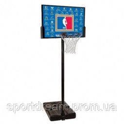 Стойка баскетбольная Spalding NBA Teams 44 Rectangle Composite