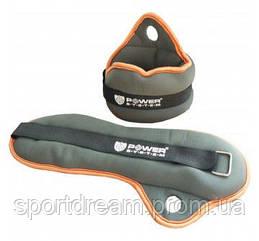 Утяжелители для рук  2 х 1кг Power System PS-4044 Neoprene Wrist Weights