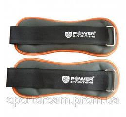 Утяжелители 2 х 0.5 кг Power System PS-4045 Neoprene Ankle Weights