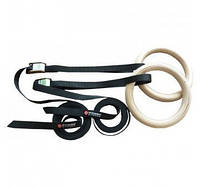 Гимнастические кольца Power System PS-4048 Gymnastic Wooden Rings