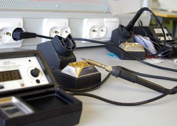 Пайка нагревательного кабеля с питающим кабелем