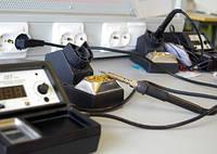Пайка нагревательного кабеля с питающим кабелем, фото 1