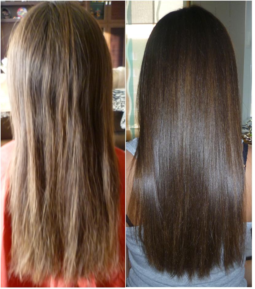 Кератиновое восстановление волос, фото 1