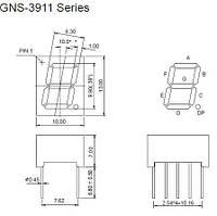 Индикатор GNS-3911BD-11