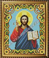 Схема для вышивания бисером Икона Иисуса Христа Вседержителя