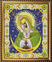 Схема для вышивания бисером Икона Божьей Матери Остробрамская