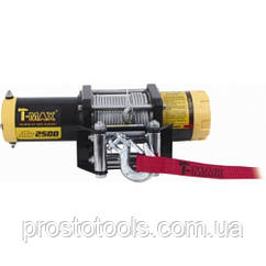 Лебедка электрическая 12В усилие 1134кг T-MAX ATV 2500