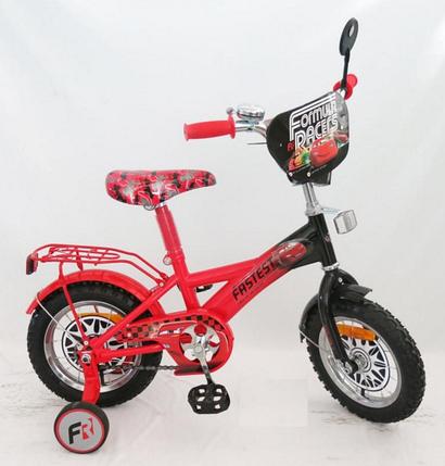 """Велосипед  двухколесный """"Тачки"""" 18 дюймов на 5, 6, 7 лет, фото 2"""