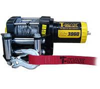 Лебедка электрическая 12В усилие 1360кг T-MAX ATV 3000DC
