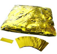 Конфетти - ''Метафан'' золотой, металлизированный 1*4 см