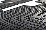 Резиновый водительский коврик в салон Hyundai ix35 2010-2015 (STINGRAY), фото 6