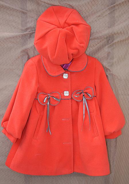 Пальто детское Бантик