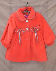 Пальто детское Бантик, фото 3
