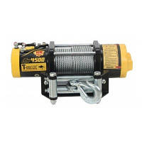 Лебедка электрическая 12В усилие 2040кг T-MAX ATW4500