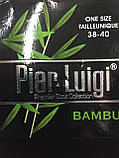 Носки мужские  бамбук без шва  Pier Luigi пр-во Турция черные р.38-40, фото 4