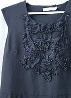 Платье модное черное мини Good Look р.44 7029