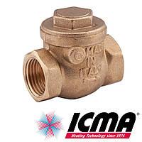 """Обратный запорный клапан 3/4"""" (20 мм) Icma Италия арт. 51"""