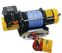 Лебедка электрическая 12В усилие 2700кг T-MAX ATV 6000