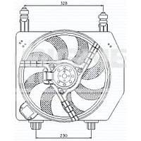 Диффузор радиатора Ford Fiesta 95-01 RDFDR014E 96FB8C607CL
