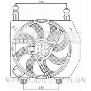 Дифузор радіатора Ford Fiesta 95-01 RDFDR014E 96FB8C607CL