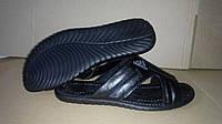 Шлепки мужские бабочка Adidas (натуральная кожа)