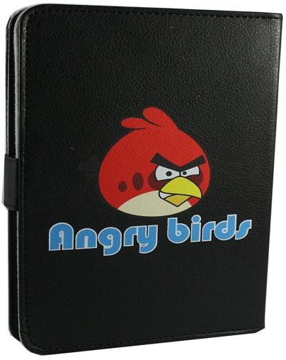 Чехол универсальный черный 7 дюймов Angry Birds