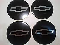 Наклейка на колпаки Chevrolet диаметр 90 мм