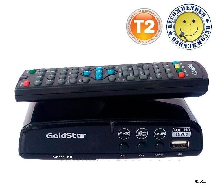 Т2 тюнер Gold Star 8830 HD