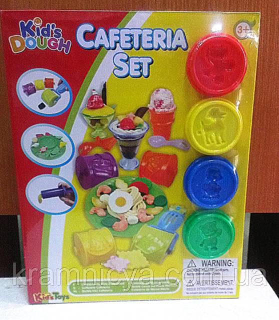 Тесто для лепки. Набор для детского творчества 'Кафе'