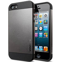 Чехол SGP Slim Armor для Apple iPhone 5/5S Gunmetal