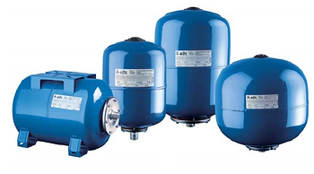 Гидроаккумулятор вертикальный 600L DЕ Reflex (Синий) 10 бар