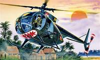 Модель вертолета  OH - 6 A CAYUSE 1/72