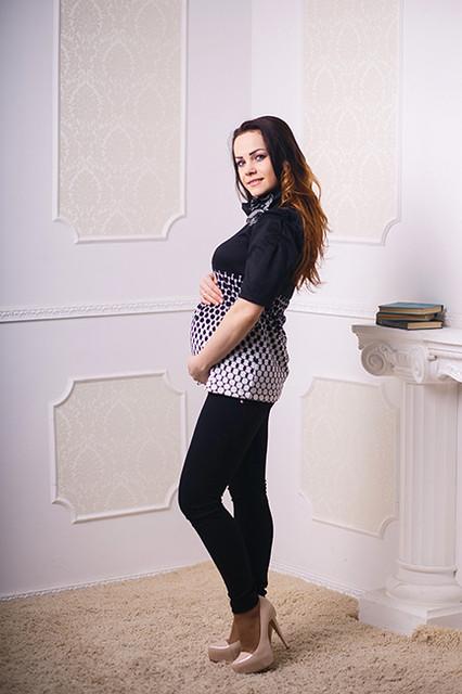 Блузки и туники для беременных