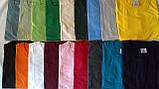 Мужская хлопчатобумажная футболка  цвета  бордо, фото 3