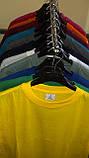 Мужская хлопчатобумажная футболка  цвета  бордо, фото 4