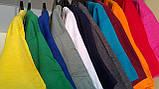 Мужская хлопчатобумажная футболка  цвета  бордо, фото 2